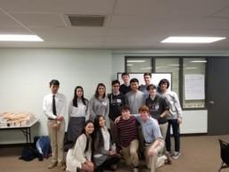 LaSalle High School students